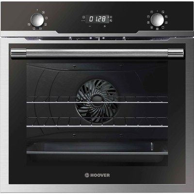 Hoover HOZ5870IN H-KEEPHEAT 700 PLUS 9 Function Electric Built-in Single Oven With Pyrolytic Cleaning - Black