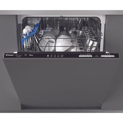 Candy Brava CDIN1L380PB Wifi Connected Fully Integrated Standard Dishwasher
