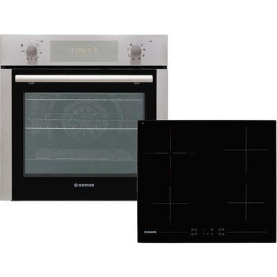 Hoover HPKCER60X/E Built In Electric Single Oven and Ceramic Hob Pack