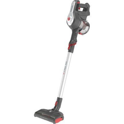 Hoover H-FREE 100 Home HF122GH Cordless Vacuum Cleaner - Grey & Red