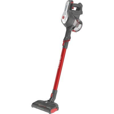 Hoover H-Free 100 Pets HF122RPT Cordless Vacuum Cleaner - Grey & Red