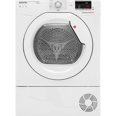 Hoover Dynamic Next DX C10DG NFC 10 kg Condenser Tumble Dryer - White