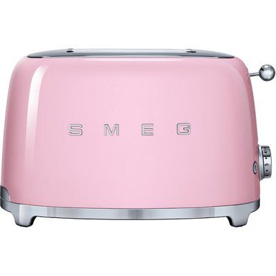 Smeg TSF01PKUK 2-Slice Toaster - Pink