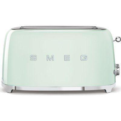 Smeg TSF02PGUK 4-Slice Toaster - Pastel Green