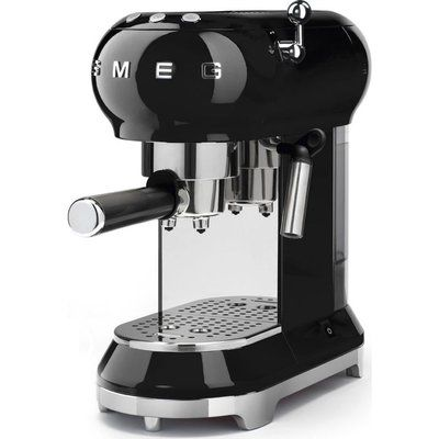 Smeg ECF01BLUK Coffee Machine - Black
