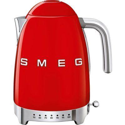 Smeg 50s Retro Style KLF04RDUK Jug Kettle - Red