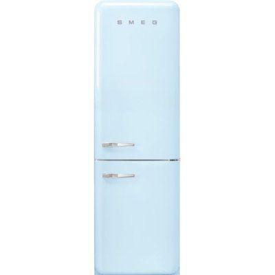 Smeg Right Hand Hinge FAB32RPB5UK 60/40 Frost Free Fridge Freezer - Pastel Blue