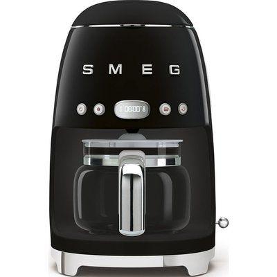Smeg 50s Retro DCF02BLUK Filter Coffee Machine - Black