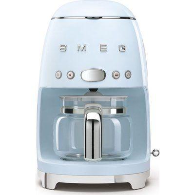 Smeg 50s Retro DCF02PBUK Filter Coffee Machine - Pastel Blue
