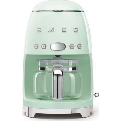 Smeg 50s Retro DCF02PGUK Filter Coffee Machine - Pastel Green