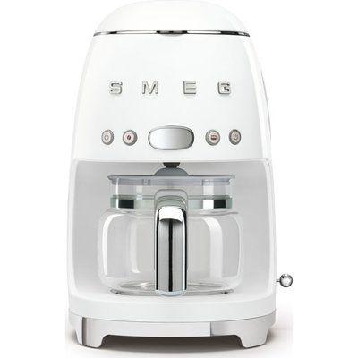 Smeg 50s Retro DCF02WHUK Filter Coffee Machine - White