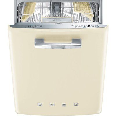 Smeg DI13FAB3CR Fully Integrated Standard Dishwasher - Cream