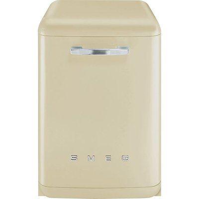Smeg DF13FAB3CR Standard Dishwasher - Cream