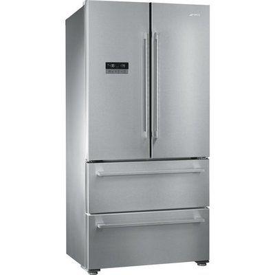 Smeg FQ55FXDF American Fridge Freezer - Stainless Steel