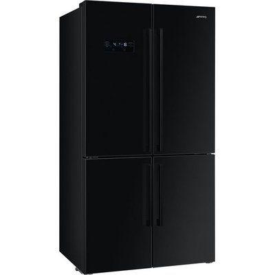 Smeg FQ60NDF American Fridge Freezer - Black