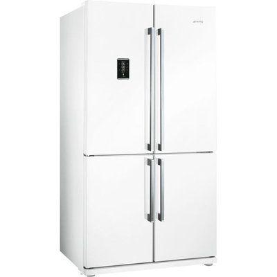 Smeg FQ60BDF American Fridge Freezer - White