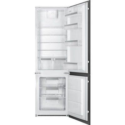 Smeg UKC81721F Integrated 70/30 Fridge Freezer with Sliding Door Fixing Kit - White