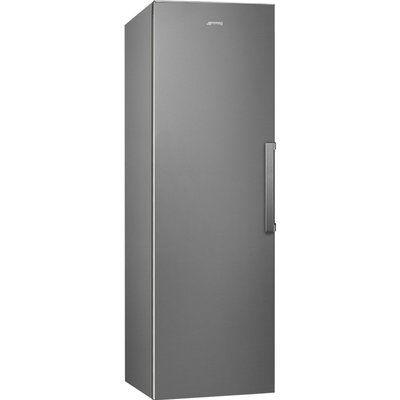 Smeg UKFF18EN2HX Frost Free Upright Freezer - Silver