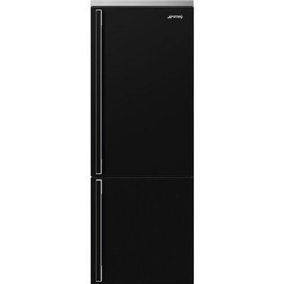 Smeg FA490RBL5 Frost Free Fridge Freezer - Black