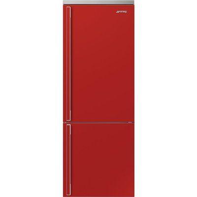 Smeg FA490RR5 Frost Free Fridge Freezer - Red