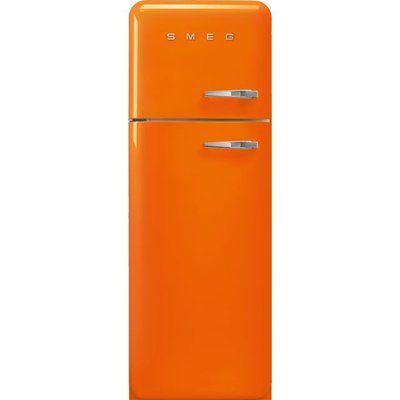 Smeg Left Hand Hinge FAB30LOR5 70/30 Fridge Freezer - Orange