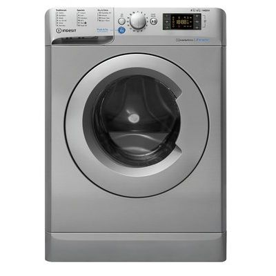 Indesit XWDE861480XS 8kg Wash 6kg Dry Washer Dryer