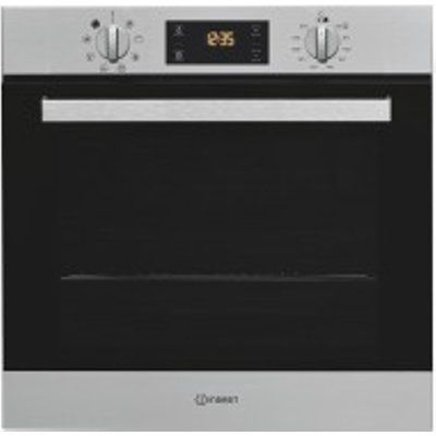 Indesit IFW6340IX 66L Built-in Electric Single Oven