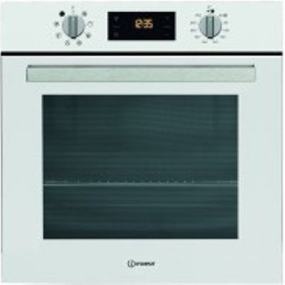 Indesit IFW6340WH 66L Built-in Electric Single Oven
