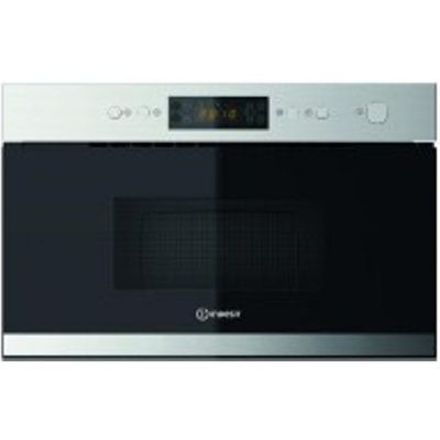 Indesit MWI3213IX 22L 750W Built-In Microwave with Grill
