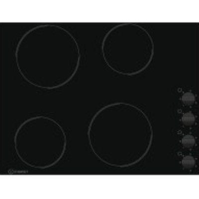 Indesit RI861X 580mm Built-In 4 Zone Ceramic Hob