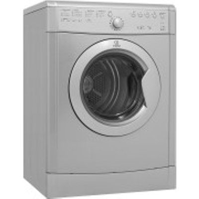 Indesit EcoTime IDVL 75 B RS.9 7kg Vented Tumble Dryer - Silver