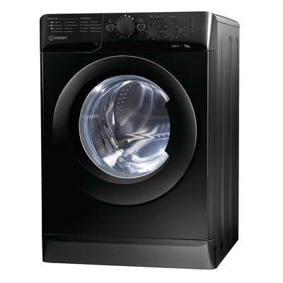Indesit MTWC71252K ECO 7KG 1200 Spin Washing Machine - Black