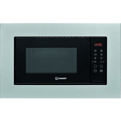 Indesit Hotpoint MWI120GXUK 20L 800W Built-in Microwave & Girll - Stainless Steel