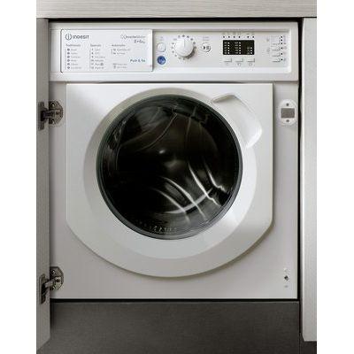 Indesit BIWDIL861284 8KG / 6KG Integrated Washer Dryer