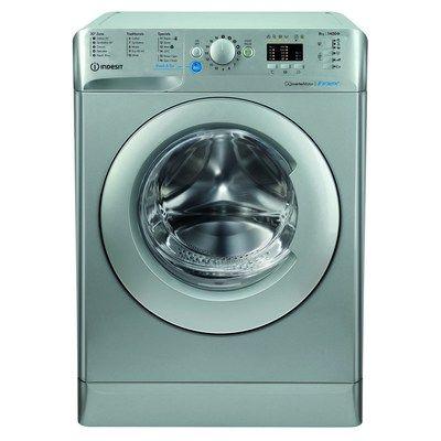 Indesit Inez BWA81483XSUKN Innex 8kg 1400rpm Freestanding Washing Machine - Silver