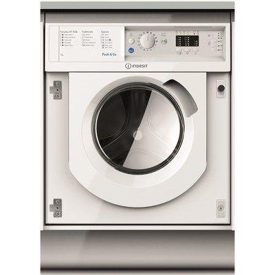 Indesit BIWMIL71252UKN 7kg 1200rpm Integrated Washing Machine