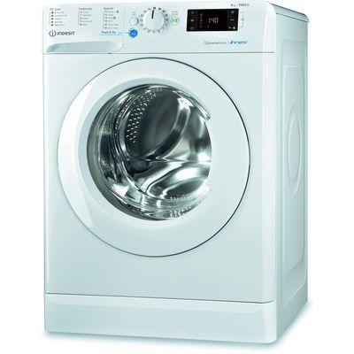 INDESIT BWE91484XWUKN 9kg 1400rpm Freestanding Washing Machine - White