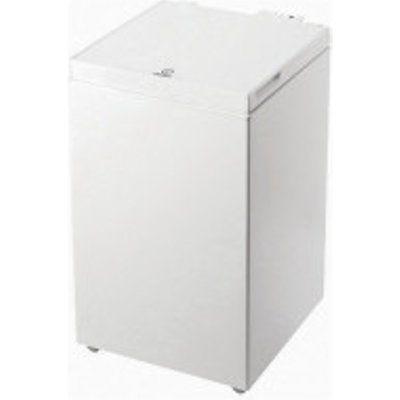 Indesit OS1A1002UK2 Chest Freezer 97L Storage A+ Energy