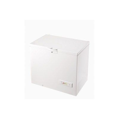 Indesit OS1A250H21 101cm Wide 251 Litre Chest Freezer - White