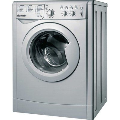 Indesit Ecotime IWDC 65125 6 kg Washer Dryer - Silver