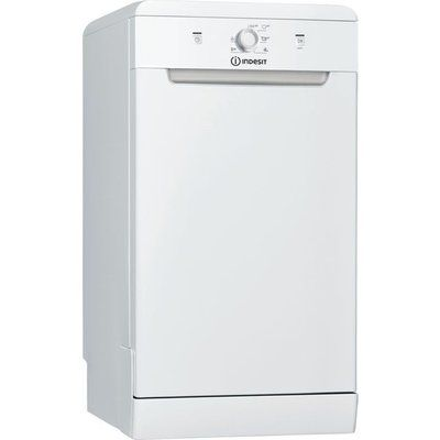 Indesit DSFE1B10UKN Slimline Dishwasher - White