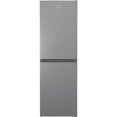 Indesit INFC850TI1S1 50/50 Frost Free Fridge Freezer - Silver