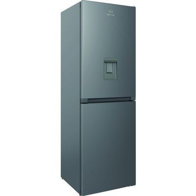 Indesit INFC8 50TI1 S AQUA 1 50/50 Fridge Freezer - Silver