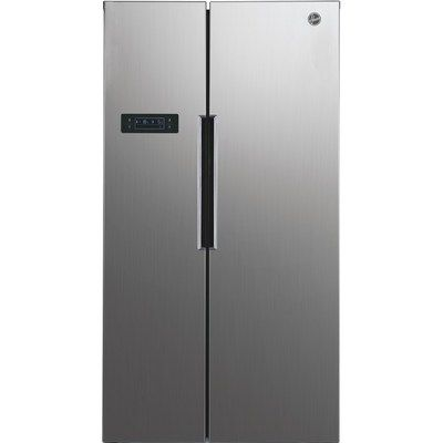 Hoover HHSBSO6174XK H-COOL American Style Side-by-side Fridge Freezer - Stainless Steel