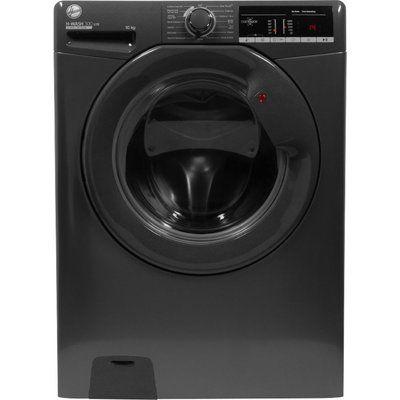 Hoover H-Wash 300 H3W410TGGE NFC 10 kg 1400 Spin Washing Machine - Graphite
