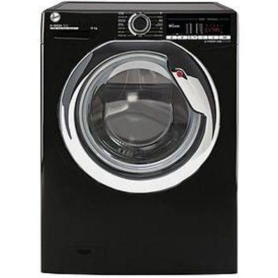 Hoover H-Wash 300 H3WS4105TACBE-80 10Kg Load 1400 Spin Washing Machine - Black