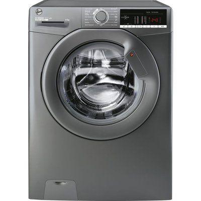 Hoover H-Wash 300 H3W49TGGE NFC 9 kg 1400 Spin Washing Machine - Graphite