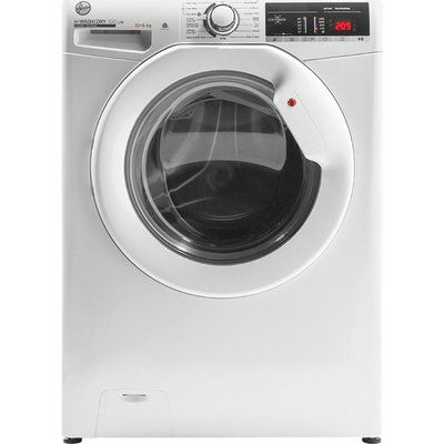 Hoover H-Wash 300 H3D 4106TE NFC 10 kg Washer Dryer - White