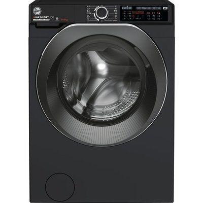 Hoover H-WASH 500 HD496AMBCB/1 Wifi Connected 9Kg / 6Kg Washer Dryer - Black