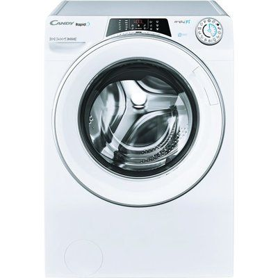 Candy Rapido RO14104DWMCE WiFi-enabled 10 kg 1400 Spin Washing Machine - White